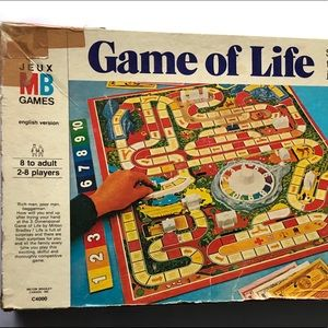 Vintage The Game of Life by Milton Bradley 1970's